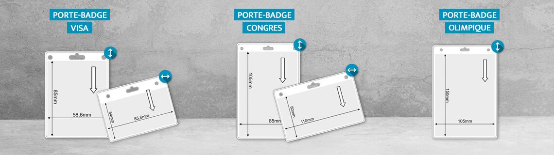 Porte badge en express